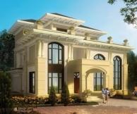 【永云别墅】AT17三层复式大厅豪华别墅设计全套建筑施工图纸18m×20m