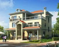 永云别墅AT251三层豪华实用型别墅建筑设计施工图纸14mx13.5m