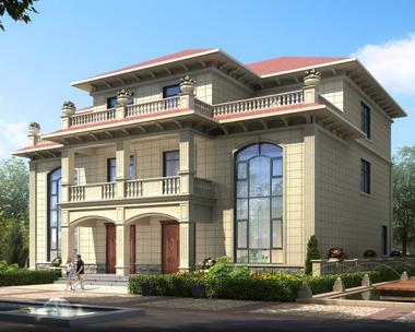 AT1908简约三层兄弟双拼复式楼别墅设计全套施工图纸16.8mX16.1m